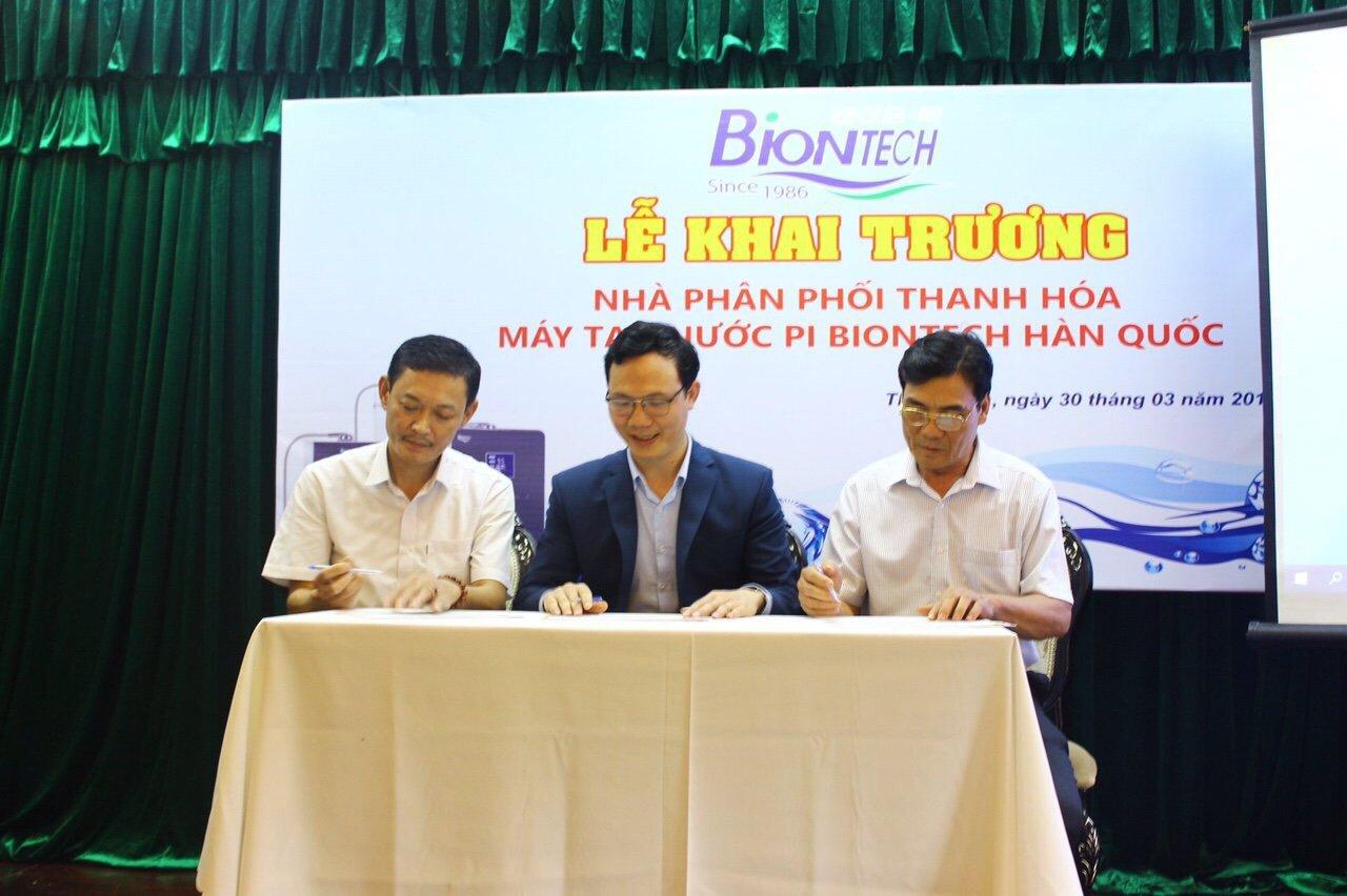 Đã có showroom máy tạo nước Pi Biontech tại Thanh Hóa