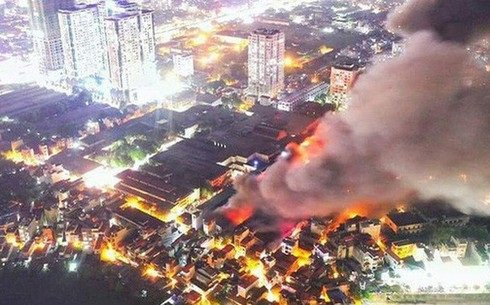 Kết luận của chuyên gia sau tin đồn nhiễm độc thủy ngân do vụ cháy nhà máy Phích nước Rạng Đông
